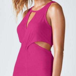 NWT Fabletics Janel Tank Berry Color XL
